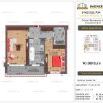 Apartamente de vanzare Dristor Residential 5 - 2 camere tip D