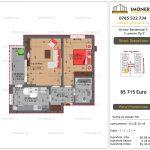 "Apartamente de vanzare Dristor Residential 5 - 2 camere tip E"""