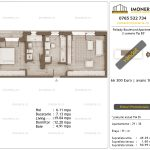 Apartamente de vanzare Pallady Boulevard Apartments -2 camere tip B3'-v