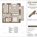 Apartamente de vanzare Pallady Boulevard Apartments -2 camere tip C2'-v