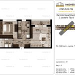 Apartamente de vanzare Pallady - Burnitei Apartments -2 camere tip B'-v