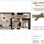 Apartamente de vanzare Pallady - Burnitei Apartments -2 camere tip E-v