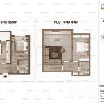 Apartamente de vanzare Dristor Residential 2 -Duplex tip I-vv
