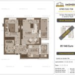 Apartamente de vanzare Dristor Residential 5 - 2 camere tip B -v