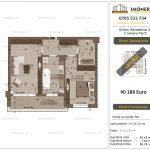 Apartamente de vanzare Dristor Residential 5 - 2 camere tip D -v