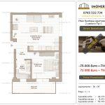 Apartamente de vanzare Mihai Bravu - Vitan Boutique Apartments - 2 camere tip C-v