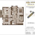 Apartamente de vanzare Decebal Residential Apartments -3 camere tip B1 -v