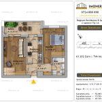 Apartamente de vanzare Fundeni - Regnum Residence&Spa -2 camere tip 1A