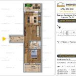 Apartamente de vanzare Fundeni - Regnum Residence&Spa -2 camere tip 3A