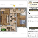 Apartamente de vanzare Fundeni - Regnum Residence&Spa -2 camere tip 5A