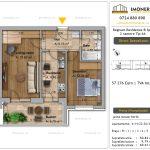 Apartamente de vanzare Fundeni - Regnum Residence&Spa -2 camere tip 6A
