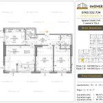 Apartamente de vanzare Mihai Bravu - Splaiul Unirii 219 -3 camere tip A
