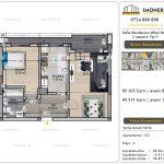 Apartamente de vanzare Vitan - Sofia Residence Mihai Bravu -2 camere tip P