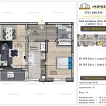 Apartamente de vanzare Vitan - Sofia Residence Mihai Bravu -2 camere tip U