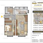 Apartamente noi Doubless -Pallady Apartments 2 -2 camere tip A2.1