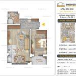 Apartamente noi Doubless -Pallady Apartments 2 -2 camere tip B2.1