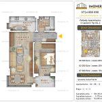 Apartamente noi Doubless -Pallady Apartments 2 -2 camere tip B2.2