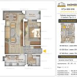 Apartamente noi Doubless -Pallady Apartments 2 -2 camere tip C1.1