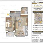Apartamente noi Doubless -Pallady Apartments 2 -2 camere tip E1.1