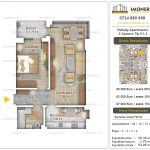 Apartamente noi Doubless -Pallady Apartments 2 -2 camere tip E1.2
