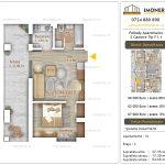 Apartamente noi Doubless -Pallady Apartments 2 -2 camere tip F1.1