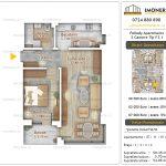 Apartamente noi Doubless -Pallady Apartments 2 -2 camere tip F2.1